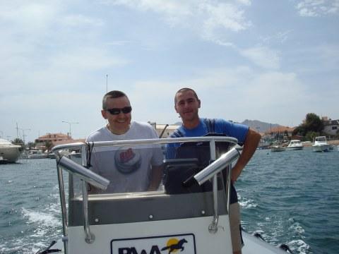compañeros de pesca